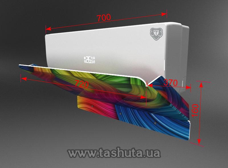 размеры дефлектора для кондиционера
