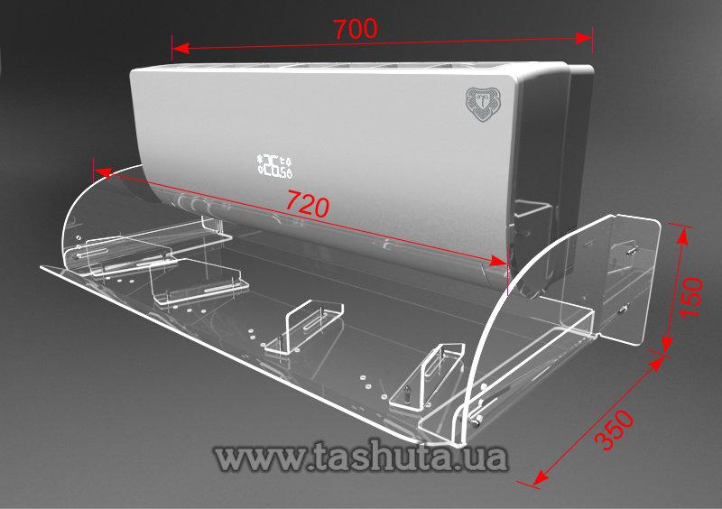 розміри дефлектора для кондиціонера