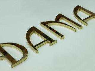 объемные буквы из композита